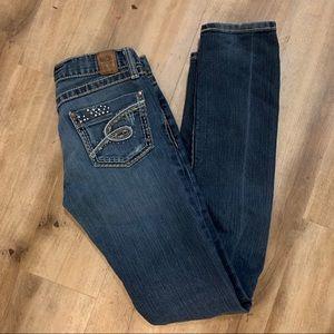 BKE Denim Mya Skinny Jeans Size 27 x 33 1/2